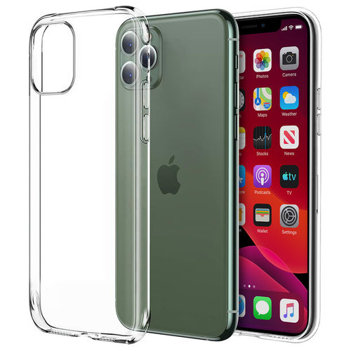 Flexi Slim Gel Case for Apple iPhone 11 Pro - Clear (Gloss Grip)